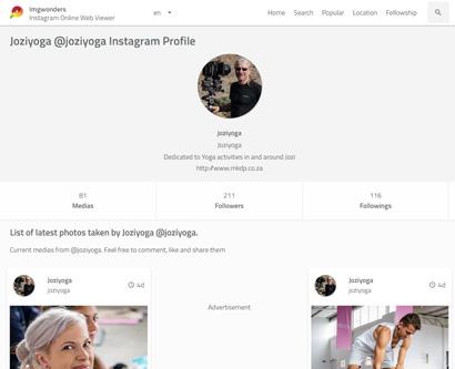 Joziyoga Instagram