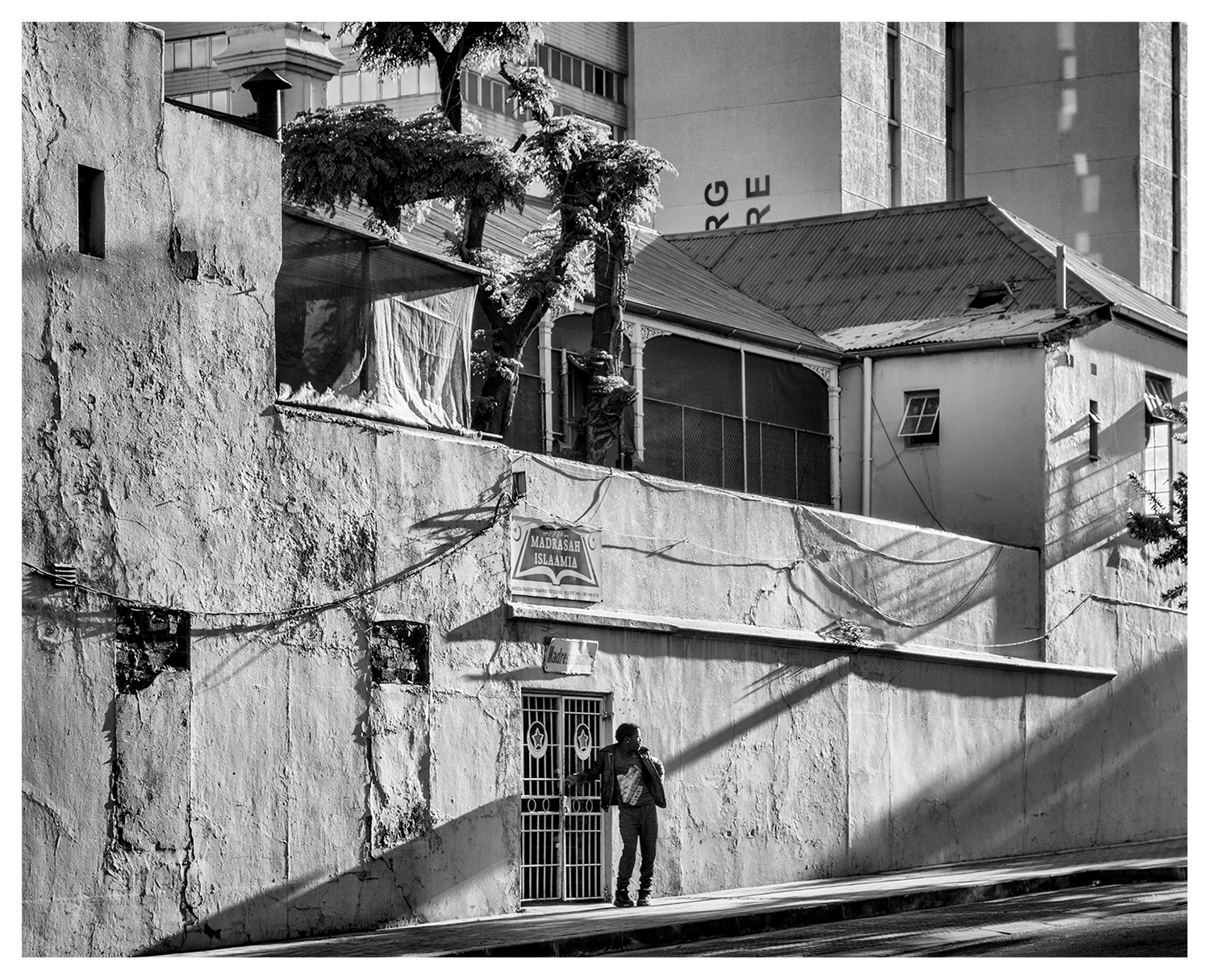Johannesburg, Madrasah, Islam, Street photography, Black and White photography,
