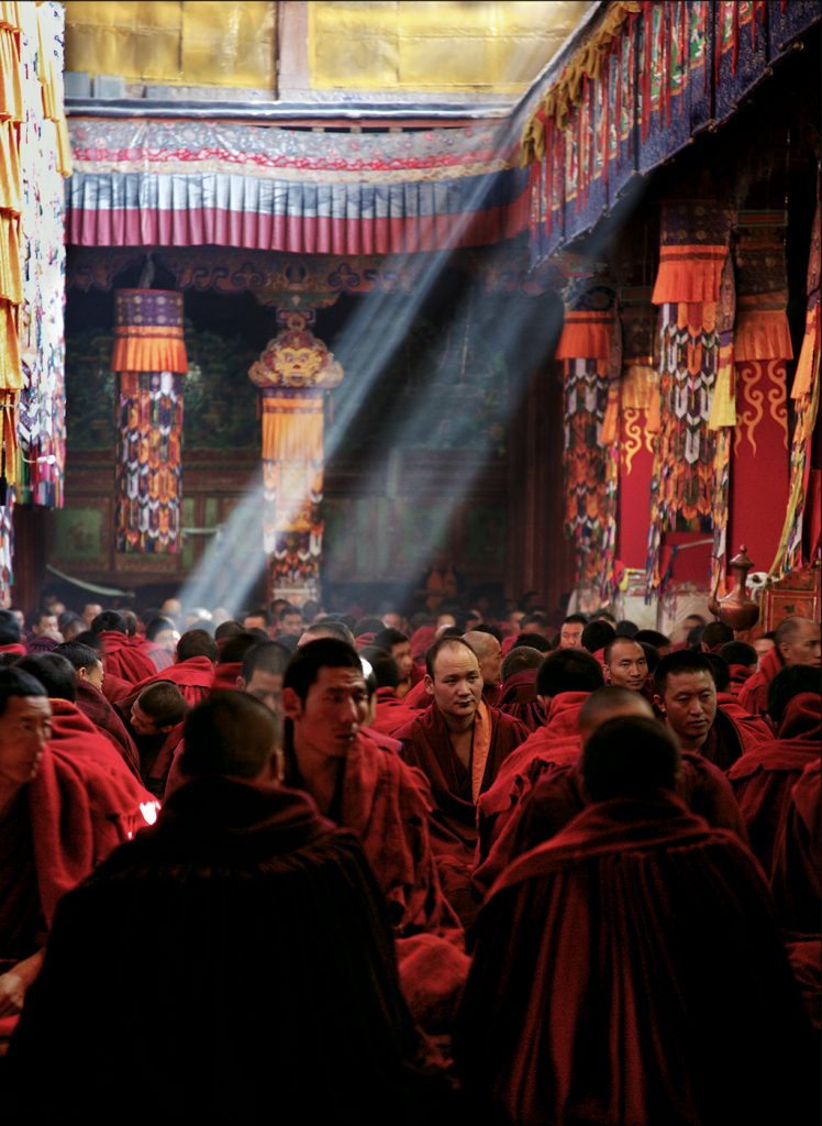 Buddhism, Tibet, Monks, Puja